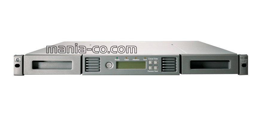 HPE StoreEver 1/8 G2 LTO-4 Ultrim 1760 SAS Tape Autoloader