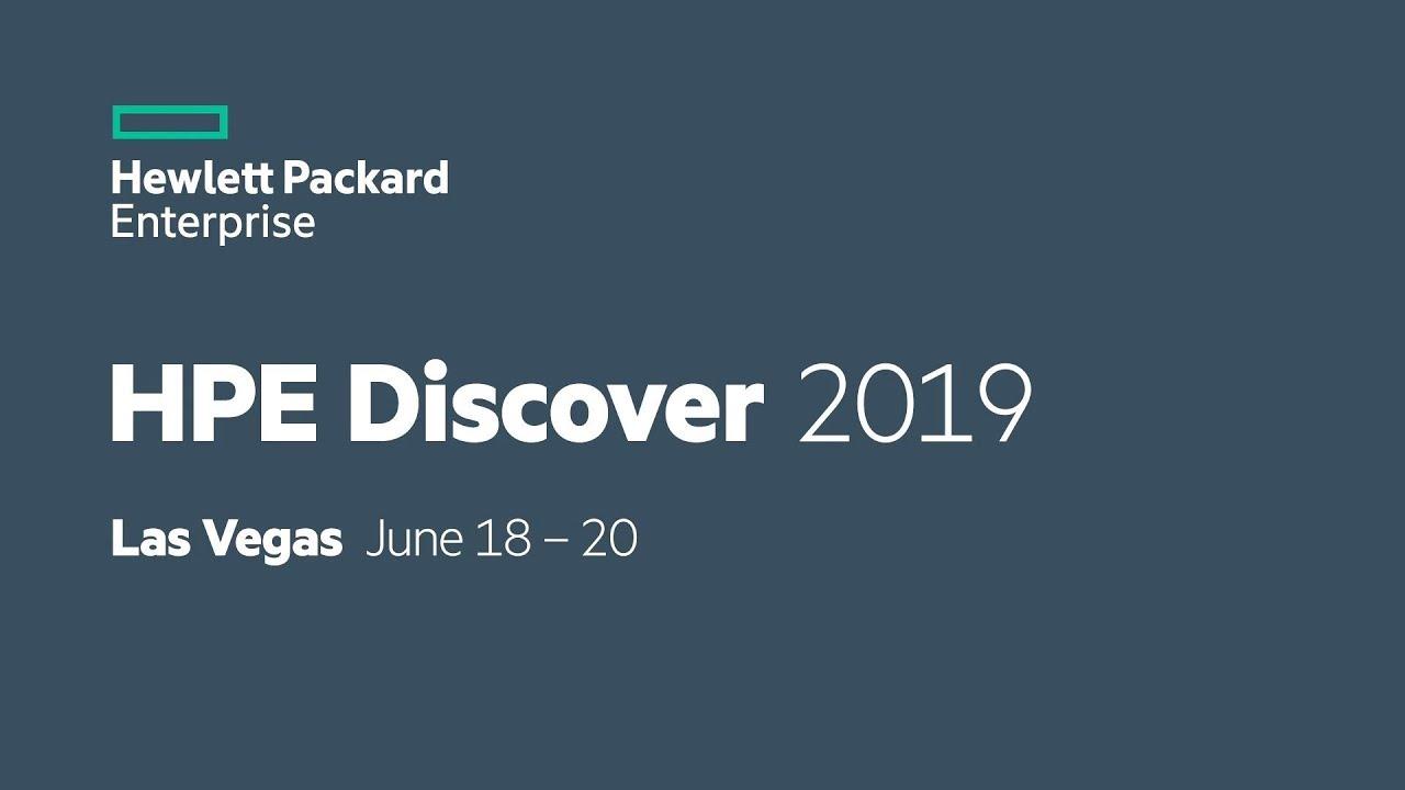 رویداد بزرگ HPE Discover 2019 در شهر لاس وگاس